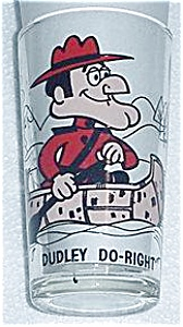 DUDLEY DO-RIGHT PESPI COLLECTORS GLASS (Image1)