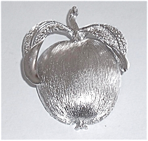 SARAH CONVENTRY APPLE BROOCH (Image1)
