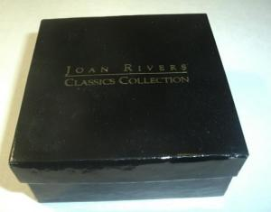 JOAN RIVERS EAR RINGS CLASSICS COLLECTION MIB (Image1)