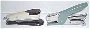 VINTAGE 2 ARROW STAPLERS ADMIRAL & S66 MODEL (Image1)