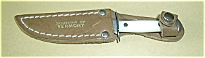 VERMONT SOUVINER KNIFE W/SHEATH UB HUNTER (Image1)