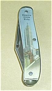KNIFE EMPIRE STATE BLDG. & WASHINGTON BRIDGE (Image1)