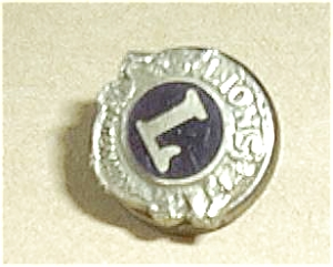 LIONS INTERNATIONAL SCREW  ON PINBACK (Image1)