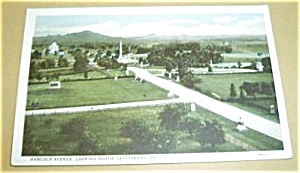 HANCOCK AVE. LOOKING SOUTH GETTYSBURG PA. (Image1)
