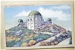 PLANETARIUM HOOLYWOOD CALIFORNIA 40`S. (Image1)