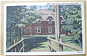 CLUB HOUSE ITASCA STATE PARK MINN. 1952 (Image1)