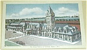 THE UNION STATION AT PORTLAND MAINE 40`S (Image1)
