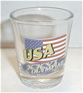 USA XXVI OLYMPIAD SHOT GLASS (Image1)