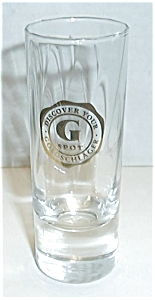Goldschlager Discover Your G Spot Shot Glass