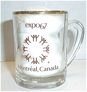 EXPO67 MONTREAL CANADA SHOT GLASS (Image1)