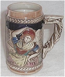 HAND PAINTED STEIN - MUG JAPAN BY KTW (Image1)