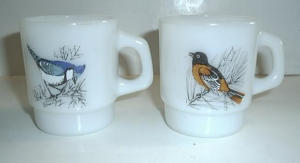 2 OLD BIRD FIREKING MUGS (Image1)