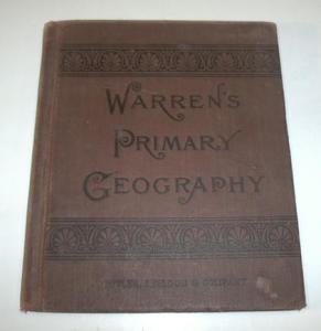 Vintage 1886 Warren`s Primary Geography