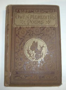 Vintage Owen Merediths Poems 1882