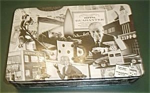 OLD ZIPPO METAL STORAGE CASE (Image1)