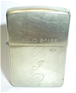 ZIPPO SOLID BRASS 1932-1992 (Image1)