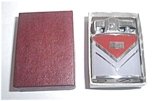 Atlantis Mini Red And Violet Ladies Lighter