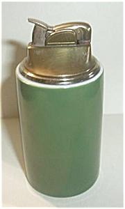 EVANS GREEN PORCELAIN TABLE LIGHTER (Image1)