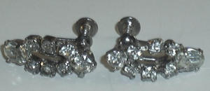 FAUX DIAMOND EAR RINGS (Image1)