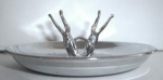Pincherette Ashtray Pat. 167,703 (1953)