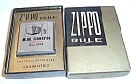 ZIPPO TAPE MEASURER H.B. SMITH BOILERS SINCE 1853