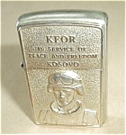 Click to view larger image of ZIPPO KFOR IN SERVICE OF PEACE AND FREEDOM KOSOVO (Image1)