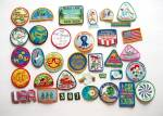 36 - Girl Scout Patches - Most 1990`s - Thousand Island