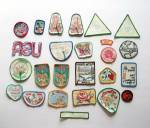 Click to view larger image of 25 - GIRL SCOUT PATCHES - PICQUET - EARTH SAVE - RECYCL (Image2)