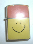 Click here to enlarge image and see more about item 2146: Penquin Smiley Face Lighter