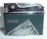 Click here to enlarge image and see more about item 2152: Atlantis Flat Lighter