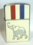 Click to view larger image of Amico 1964 Republican Party Lighter (Image1)