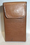 Click here to enlarge image and see more about item 2264: Buxton Leather  Cigarette Case