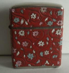 Click to view larger image of Champ-ette Red Floral Wrap (Image1)