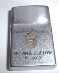 Brown and Bigelow  Advertising Lighter