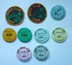 MAD RIVER CLUB PULASKI NEW YORK PINBACKS & PATCHES EST.