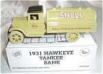 Click here to enlarge image and see more about item 510518: 1993 ERTL #B276 SHELL OIL TRUCK 1/34 SCALE BANK