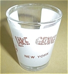 Click to view larger image of LAKE GEORGE NEW YORK SHOT GLASS (Image1)