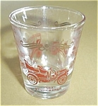 Click to view larger image of 1905 FORD - 1904 PACKARD - 1904 STUDEBAKER SHOT GLASS (Image1)