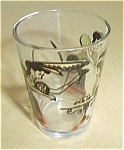 VINTAGE WOMEN DRINKING WINE SHOT GLASS