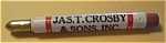 JAS. T. CROSBY & SONS INC. ST. PAUL MINN. BULLET PENCIL