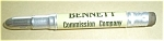 Click here to enlarge image and see more about item 62405-23: BENNETT COMMISSION CO. ST. PAUL MINN. BULLET PENCIL