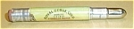 Click here to enlarge image and see more about item 62405-3: ROYAL GORGE COLORADO VINTAGE BULLET PENCIL