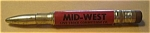 Click here to enlarge image and see more about item 62405-6: MID - WEST LIVE STOCK COMMISION CO. BULLET PENCIL