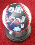 Click to view larger image of NEW YORK YANKEES CLOCK BASEBALL 1977 WORLD SERIES ED. (Image3)