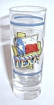 VINTAGE TEXAS DOUBLE SHOT TALLBOY SHOT GLASS