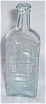 EMBOSSED HOODS SARSA PARILLA APOTHECARIES BOTTLE