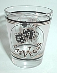 VINTAGE SHOT GLASS LAS VEGAS