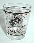 Click to view larger image of VINTAGE SHOT GLASS LAS VEGAS (Image1)