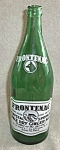 Click here to enlarge image and see more about item 92508: VINTAGE GREEN FRONTENAC GINGER ALE CLAYTON NEW YORK