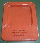 BROWN & BIGELOW ADV. ASHTRAY INSURANCE
